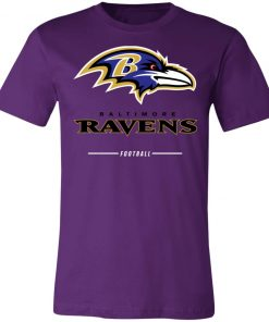 Baltimore Ravens NFL Pro Line Black Team Lockup Unisex Jersey Tee