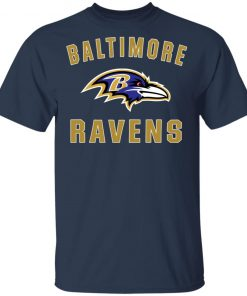 Baltimore Ravens NFL Line by Fanatics Branded Gray Victory Men's T-Shirt