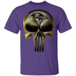 Baltimore Ravens The Punisher Mashup Football Shirts Men's T-Shirt