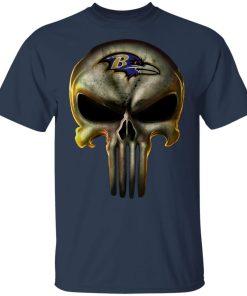 Baltimore Ravens The Punisher Mashup Football Shirts Youth's T-Shirt