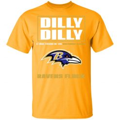 Dilly Dilly A True Friend Of The Baltimore Ravens Shirts Youth's T-Shirt