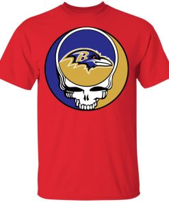 NFL Team Baltimore Ravens x Grateful Dead Youth's T-Shirt
