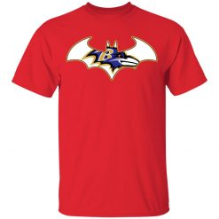 We Are The Baltimore Ravens Batman NFL Mashup Youth's T-Shirt