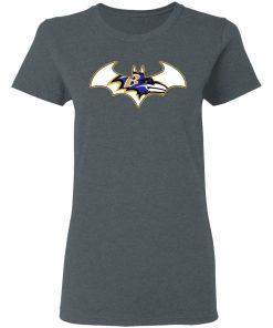 We Are The Baltimore Ravens Batman NFL Mashup Women's T-Shirt