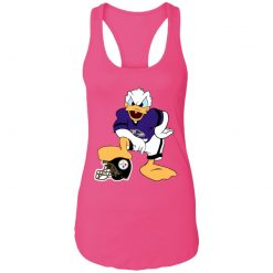 You Cannot Win Against The Donald Baltimore Ravens NFL Racerback Tank