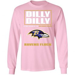 Dilly Dilly A True Friend Of The Baltimore Ravens Shirts LS T-Shirt