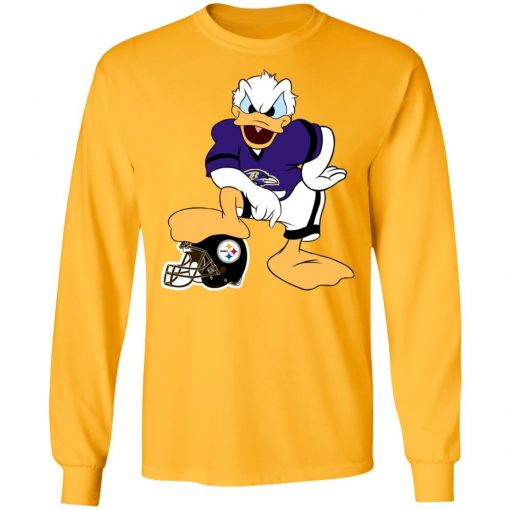 You Cannot Win Against The Donald Baltimore Ravens NFL LS T-Shirt
