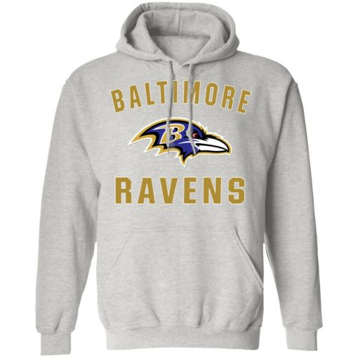 Baltimore Ravens NFL Line by Fanatics Branded Gray Victory Hoodie