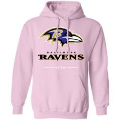 Baltimore Ravens NFL Pro Line Black Team Lockup Hoodie