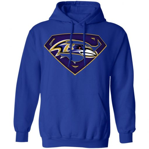 We Are Undefeatable The Baltimore Ravens x Superman NFL Hoodie