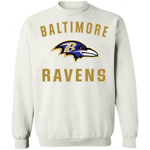 Baltimore Ravens NFL Line by Fanatics Branded Gray Victory Sweatshirt