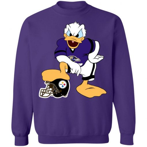 You Cannot Win Against The Donald Baltimore Ravens NFL Sweatshirt