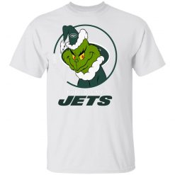 I Hate People But I Love My New York Jets Grinch NFL Youth's T-Shirt