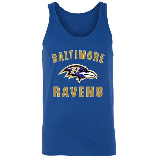 Baltimore Ravens NFL Line by Fanatics Branded Gray Victory Unisex Tank