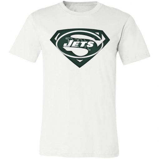 We Are Undefeatable The New York Jets x Superman NFL Unisex Jersey Tee