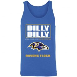 Dilly Dilly A True Friend Of The Baltimore Ravens Shirts Unisex Tank