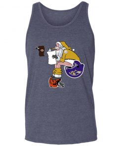 Santa Claus Pittsburgh Steelers Shit On Other Teams Christmas Unisex Tank