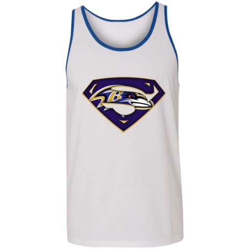 We Are Undefeatable The Baltimore Ravens x Superman NFL Unisex Tank