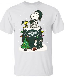 A Happy Christmas With New York Jets Snoopy Youth's T-Shirt