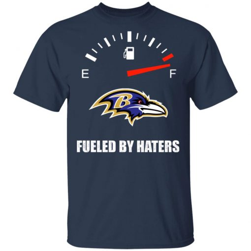Fueled By Haters Maximum Fuel Baltimore Ravens Shirts Men's T-Shirt