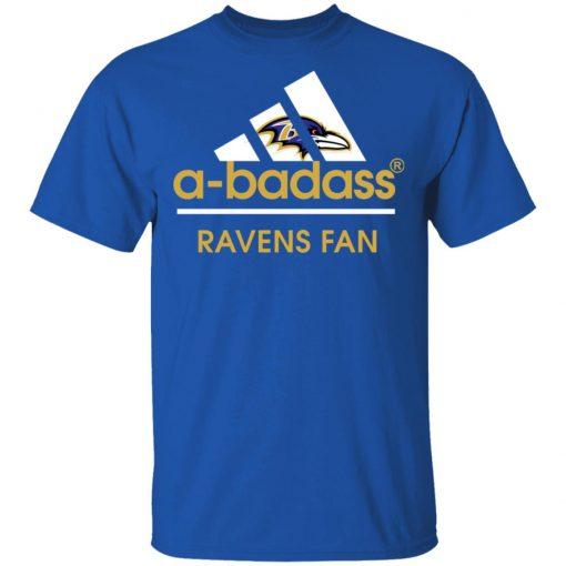 A-Badass Baltimore Ravens Mashup Adidas NFL Men's T-Shirt