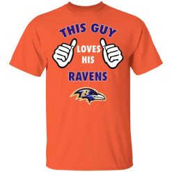 This Guy Loves His Baltimore Ravens Youth T-Shirt