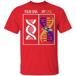 My DNA Is The Baltimore Ravens Football NFL Youth T-Shirt
