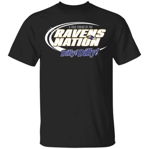 A True Friend Of The Ravens Nation Youth T-Shirt
