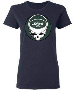 NFL Team New York Jets x Grateful Dead Logo Band Women's T-Shirt