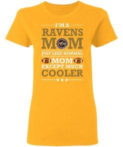 I'm A Ravens Mom Just Like Normal Mom Except Cooler NFL Women's T-Shirt
