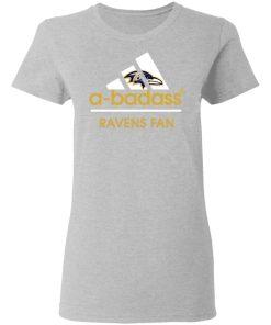 A-Badass Baltimore Ravens Mashup Adidas NFL Women's T-Shirt
