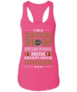 I'm A Ravens Mom Just Like Normal Mom Except Cooler NFL Racerback Tank