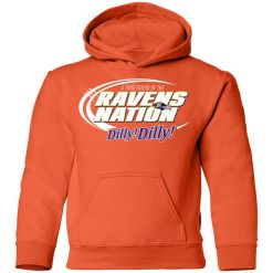 A True Friend Of The Ravens Nation Youth Hoodie