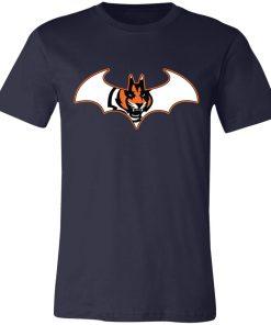 We Are The Cincinnati Bengals Batman NFL Mashup Unisex Jersey Tee
