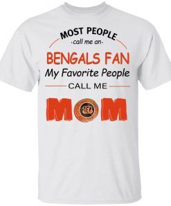 Most People Call Me Cincinnati Bengals Fan Football Mom Youth's T-Shirt