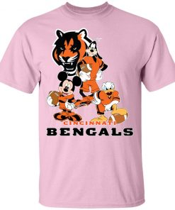 Mickey Donald Goofy The Three Cincinnati Bengals Football Shirts Youth's T-Shirt