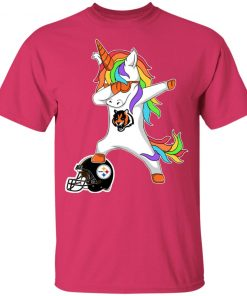 Football Dabbing Unicorn Steps On Helmet Cincinnati Bengals Youth's T-Shirt
