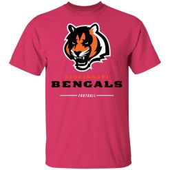 Cincinnati Cengals NFL Pro Line Black Team Lockup Youth's T-Shirt