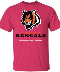 Cincinnati Cengals NFL Pro Line Black Team Lockup Youth's T-Shirt