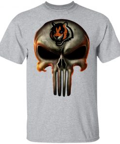 Cincinnati Bengals The Punisher Mashup Football Youth's T-Shirt