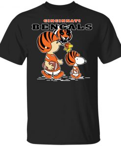Cincinnati Bengals Let's Play Football Together Snoopy NFL Youth's T-Shirt
