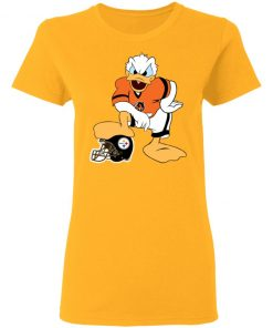 You Cannot Win Against The Donald Cincinnati Bengals NFL Women's T-Shirt
