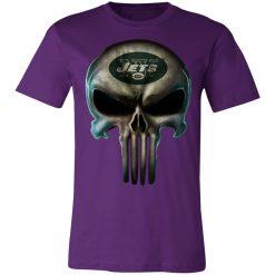 New York Jets The Punisher Mashup Football Unisex Jersey Tee