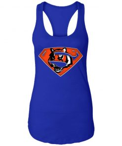 We Are Undefeatable The Cincinnati Bengals x Superman NFL Racerback Tank