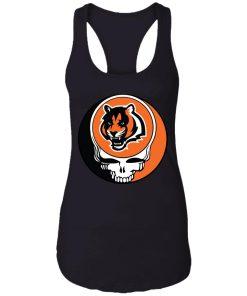 NFL Team Cincinnati Bengals x Grateful Dead Logo Band Racerback Tank