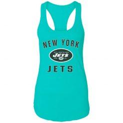 New York Jets NFL Pro Line by Fanatics Branded Vintage Victory Racerback Tank