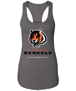 Cincinnati Cengals NFL Pro Line Black Team Lockup Racerback Tank