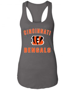 Cincinnati Bengals NFL Pro Line Gray Victory Racerback Tank