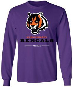 Cincinnati Cengals NFL Pro Line Black Team Lockup LS T-Shirt