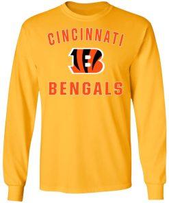 Cincinnati Bengals NFL Pro Line Gray Victory LS T-Shirt